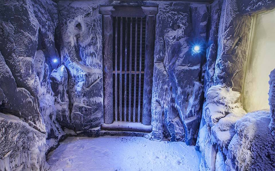 Salt room and Snow cave